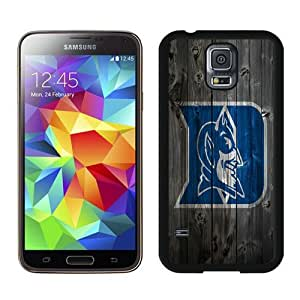 Duke Blue Devils Wood Black Samsung Galaxy S5 i9600 Case,personalized design together with Excellent protection