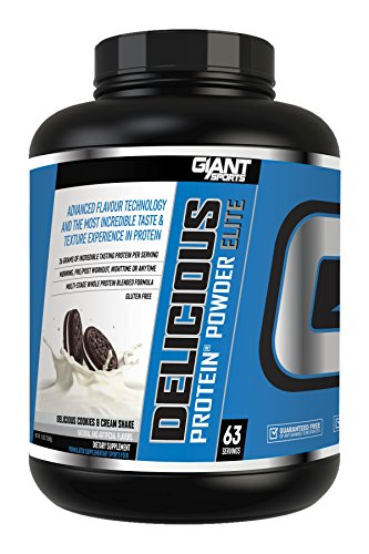 Giant Sports Delicious Elite Powder, Cookies and Creme, 5 Pound (Sports Cookie)
