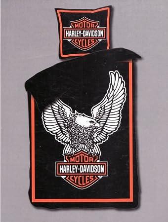 Harley Davidson Bettwäsche Eagle Amazonde Küche Haushalt