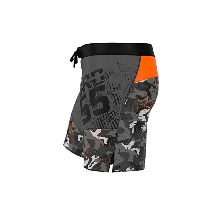 51d3kZ8LGBL ¡Ropa profesional para las artes marciales! Ideal como pantalones deportivos para hombres para el entrenamiento de MMA, BJJ, agarre, krav magá. Se pueden usar como pantalones cortos universales para el gimnasio y el entrenamiento cruzado. ¡Todos los productos manufacturados en Europa y con una alta calidad garantizada! El material de rendimiento térmico, del que están hechas las mallas, absorbe el sudor y evapora rápidamente la humedad incluso durante un entrenamiento intenso, también el material ligero y transpirable garantiza un secado rápido, incluso cuando se sumerge completamente en el agua. La tecnología de SEGUNDA PIEL garantiza un ajuste perfecto, libertad de movimiento ilimitada y una aspecto atractivo.