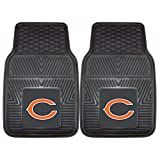 chicago bears car accessories - FANMATS NFL Chicago Bears Vinyl Heavy Duty Car Mat