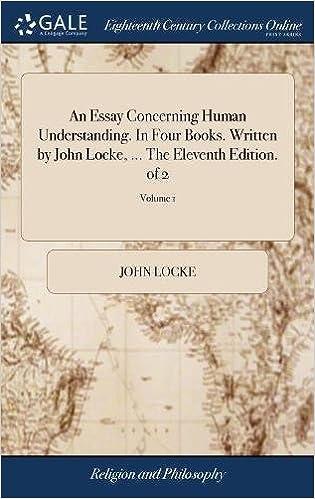 Written By John Locke The Eleventh Edition Of 2 Volume 1 9781379738114 Amazon Books