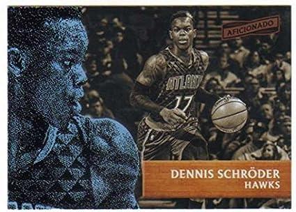 Basketball NBA 2016-17 Panini Aficionado  16 Dennis Schroder  16 NM+ Hawks 5b2f81048
