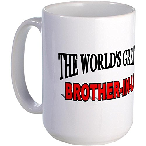 Demon Decal The World's Greatest Brother-In-Law Large Mug - Standard 12.95