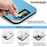 Digital Kitchen Scale Multifunction Electronic Scale Stainless Steel Food Scale Grams for Weight
