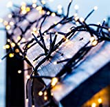 Cheap Solar String Lights,Goodia 72.5ft 22m 200 LED Ambiance lighting for Outdoor,Patio,Lawn,Landscape,Fairy Garden,Home,Wedding,Holiday,Christmas Party,Xmas Tree,Waterproof