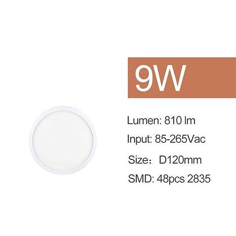 WSYYWD Lámpara de techo con superficie de luz de techo LED 265v ...