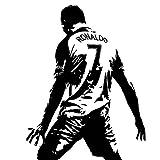 Ronaldo wall stickers domineering celebration waterproof wall stickers decorative wall stickers Creative Poster Print (70x90cm)