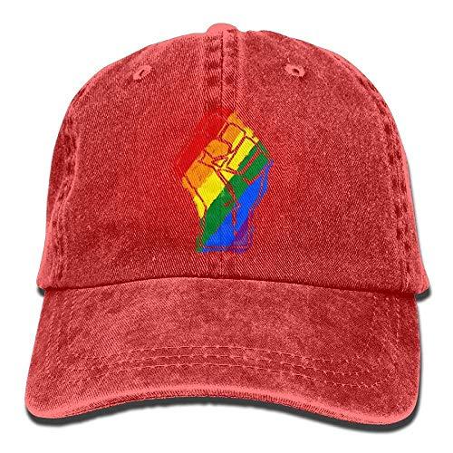 Gay Cap béisbol Gorras Como Tu No Soy Mini Hat Denim LGBT Resist Baseball Adjustable Womens 0wa4gZ