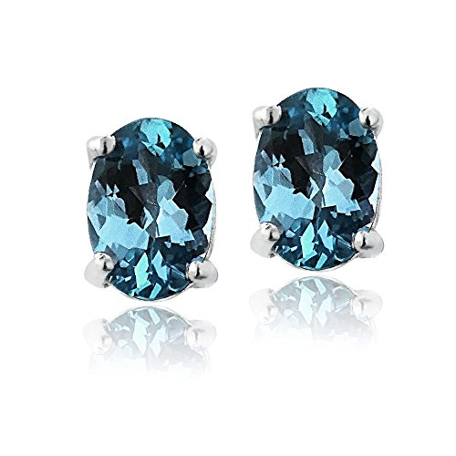 Sterling Silver London Topaz Earrings product image