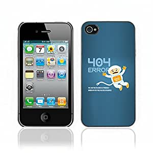 Carcasa Funda Case // V0000684 Astronaut Background 404 Error // Apple Iphone 4 4S