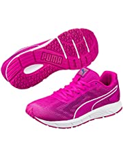 PUMA Women's Engine WNS, Ultra Magenta- White, Running Shoes