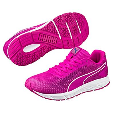 PUMA Women's Engine WNS, Ultra Magenta- White,10 Running Shoes