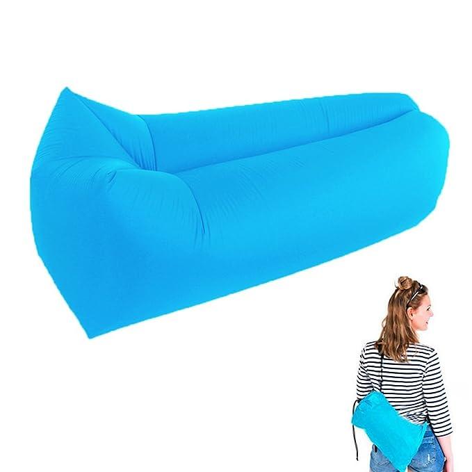 Amazon.com: Nana tumbona inflable, aire camas sofá cama Sofá ...