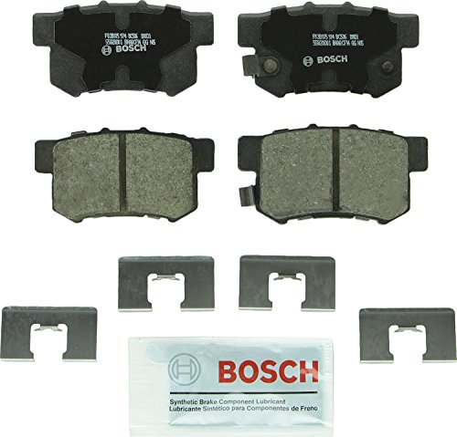 Bosch BC536 QuietCast Premium Ceramic Rear Disc Brake Pad Set ()