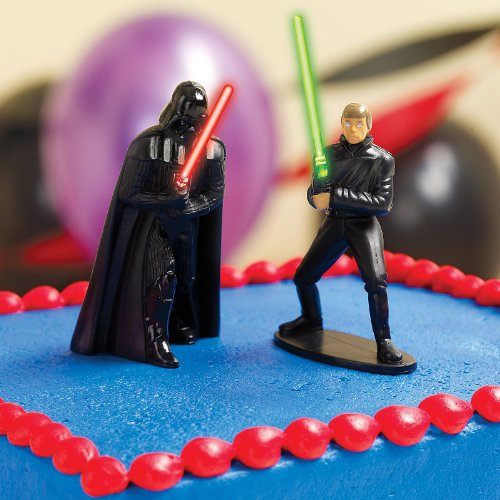 Amazoncom Star Wars Cake Topper Party Accessory Toys Games