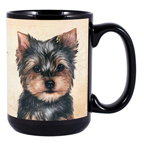 Yorkie Dog Breed Traits Ceramic Stoneware 15 Ounce Mug