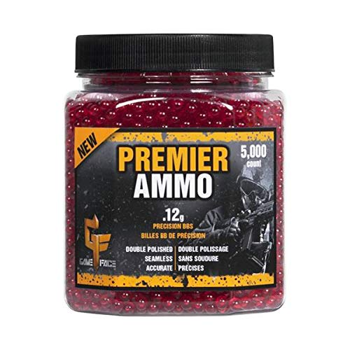Crosman Elite Premier ASP512 Airsoft Ammunition - 6mm (red) 5,000 count
