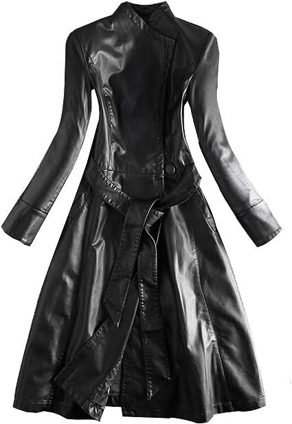 Manteau Femme Hiver Noir Long Grande Taille Steampunk