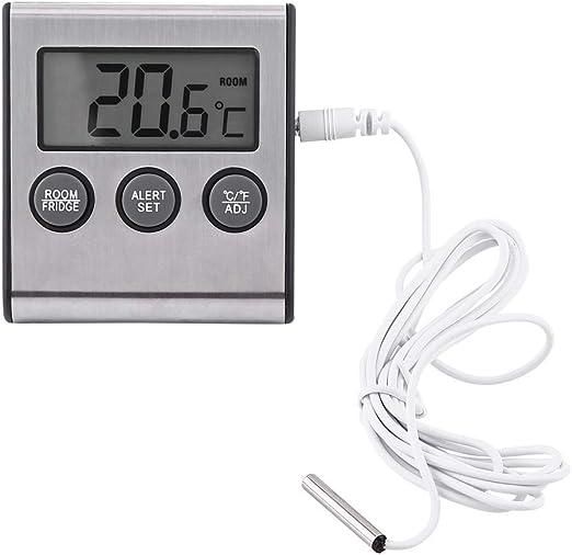 Compra Alarma del Termómetro del Congelador del Refrigerador - LCD ...