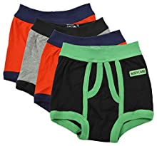 a9b3afa15325 BODYCARE Pure Cotton Multi-Coloured Trunk for Boys & Kids (333-Packof4-