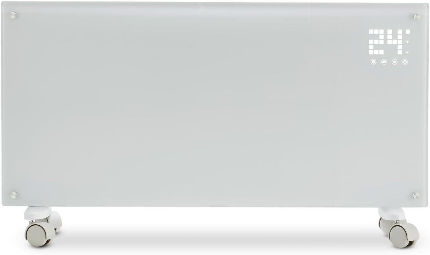 2000W Noir 2 Niveaux de Chauffage Menu LED Radiateur /à Convection Klarstein Bornholm