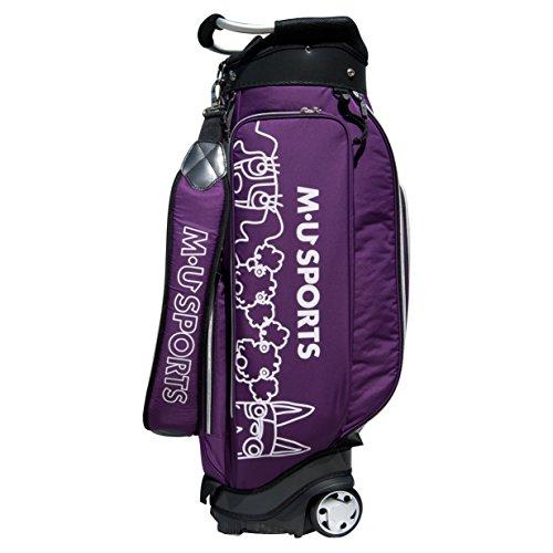 アカデミック欠乏具体的にMU SportsレディースWheeledゴルフカートバッグ、703 V7103、パープル