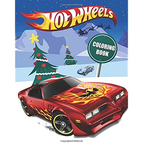 Hot Wheels Coloring Book: Amazing Hot Wheels Coloring Book Christmas  Edition For Kids & Fans: Wings, Fairy: 9798558882797: Amazon.com: Books