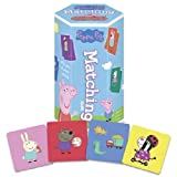 Peppa Pig Matching Game - 36 Picture Tiles - Memory Learning Game for Ages 3 and Up