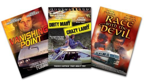 Road Films 3 Pack (Dirty Mary, Crazy Larry / Vanishing Point / Race With The Devil) by Peter Fonda