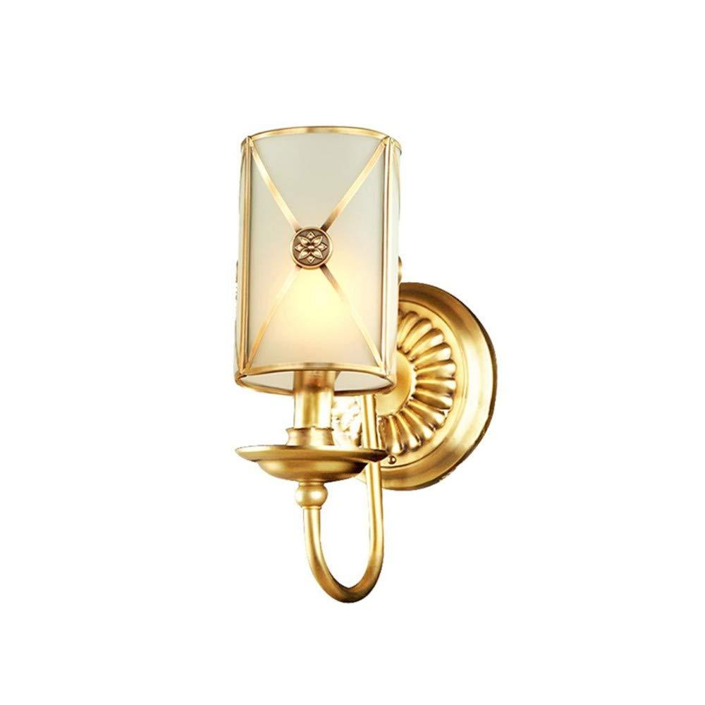Aussenlampe Wandbeleuchtung Wandlampe Wandleuchte Innen  Europäische Kupfer Wandleuchte Wohnzimmer Lampe Schlafzimmer Leuchtet Flur Gang Lichter