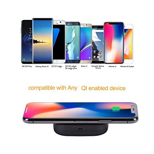 ngsgoods  NGSGOODS Mini Portatile Wireless Tascabile,Caricatore Batteria Power ...