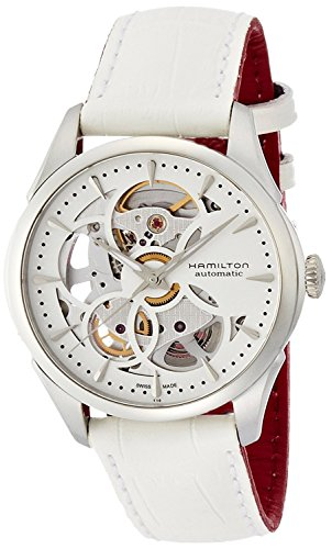 HAMILTON watch Jazzmaster Viewmatic Skeleton Lady H32405811 Ladies