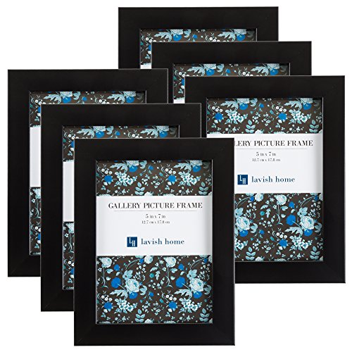 amazon com picture frame set 5x7 frames pack for