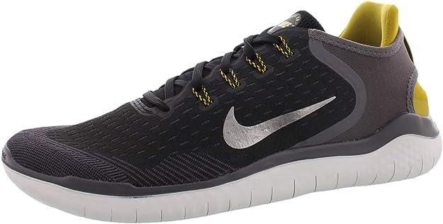 Nike Free RN 2018, Zapatillas de Trail Running para Hombre, Multicolor (Black/Mtlc Pewter/Peat Moss/Thunder Grey 009), 47 EU: Amazon.es: Zapatos y complementos