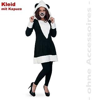 Panda Bar Kostum Fur Damen Gr 36 38 Tolles Tierkostum Fur
