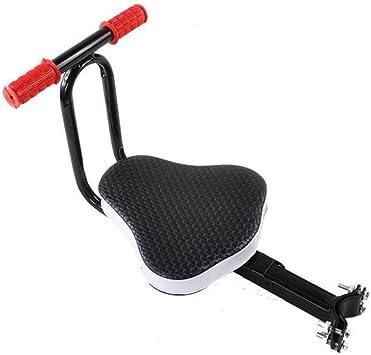 JKNM Asiento Delantero de Bicicleta para niños con reposabrazos ...