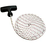 Garage door lock release rope line & free handle HIGH DENSITY ROPE 4MM DIAMETER x 2 METRES by QUALITY GARAGE DOOR CORDS
