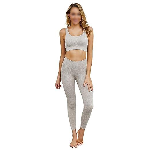 XUMI Pantalones De Yoga, Conjunto Ropa De Entrenamiento para ...