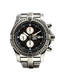Breitling Super Avenger swiss-automatic mens Watch A13370 (Certified Pre-owned)