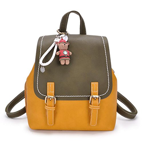 sac 26cm femmes sac à à main dos souple mode sac 14 cuir multifonctionnel en de 25 PU Le décontracté des EwdXwH