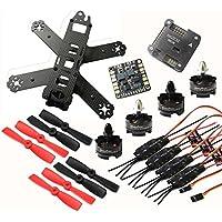 Hobbypower DIY 210mm Racing Quadcopter frame Kit with T2204 2300KV Brushless Motor Simonk 12A ESC NAZE32 6DOF Flight Controller