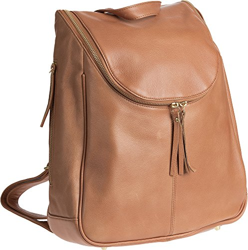 Nora Argentine Leather Backpack Purse (Sheepskin Womens Shoulder Bag)