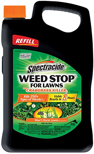 Spectracide Weed Stop For Lawns Plus Crabgrass Killer2 (AccuShot(TM) Refill) (HG-96419) (Best Weed Stop For Lawns)