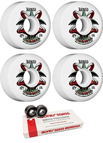 激安正規品 Bones Wheels 60mm Pro SPF - Talon B07JR1GNCZ P5 ホワイトスケートボードホイール Pro ボーンベアリング付き - 8mm ボーン スケートボードベアリング - 2個セット B07JR1GNCZ, お家DECOの店 efiLuz-エフィルス-:a13496f2 --- mvd.ee