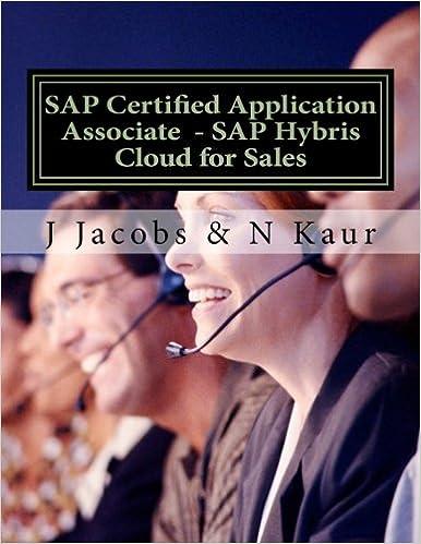 SAP Certified Application Associate - SAP Hybris Cloud for Sales: J ...
