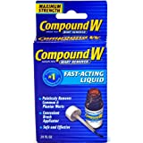 Compound W Wart Remover Liquid, Maximum Strength, 0.31 Fl Oz