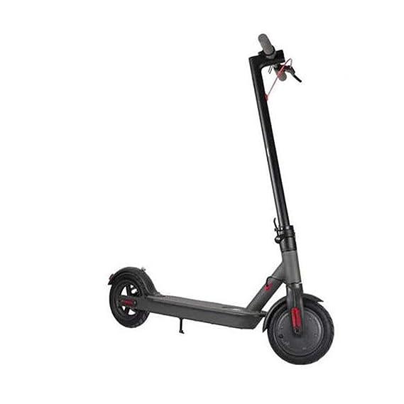 P&LK Scooter eléctrico con LED, Plegable y fácil de Llevar ...