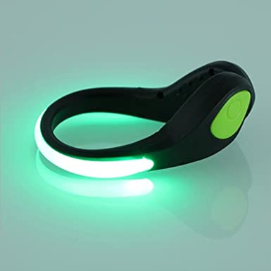 SHIVEXIM Bike Cycling Sports Running Shoes Wrist Safety Bicycle LED Spot Light nbsp; nbsp; Multicolor