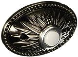 heath zenith wired doorbell - Heath Zenith SL-873-02 Classic Décor Wired Push Button, Pewter Plate
